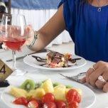 Sala da pranzo dell'Hotel Elios di Bellaria Igea Marina