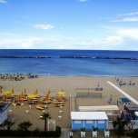 Private beach Hotel Helios Igea