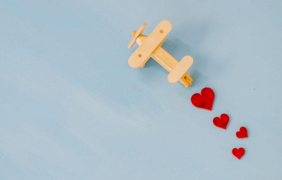 Romantisches Angebot für Verliebte