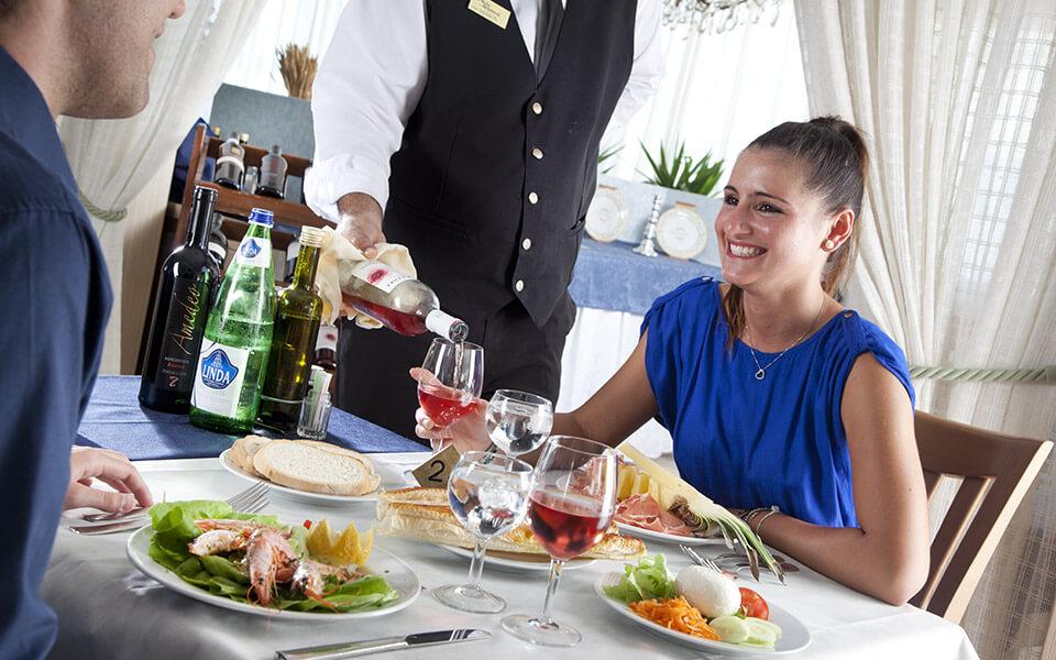 Pranzo Ristorante   Hotel Elios